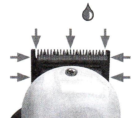 Po nanesení oleja strojček na krátku dobu zapnite – tým zaistíte  rozprestrenie oleja medzi všetky trecie plochy hlavice. 468da44c0a6