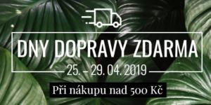 Dny dopravy zdarma! 25. – 29. 04. 2018