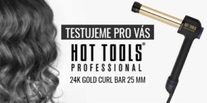 Testujeme pro vás – Kulma na vlasy Hot Tools 24K Gold Curl Bar – 25 mm