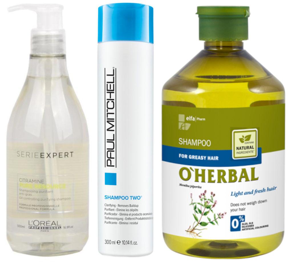 Šampony vhodné pro mastné vlasy