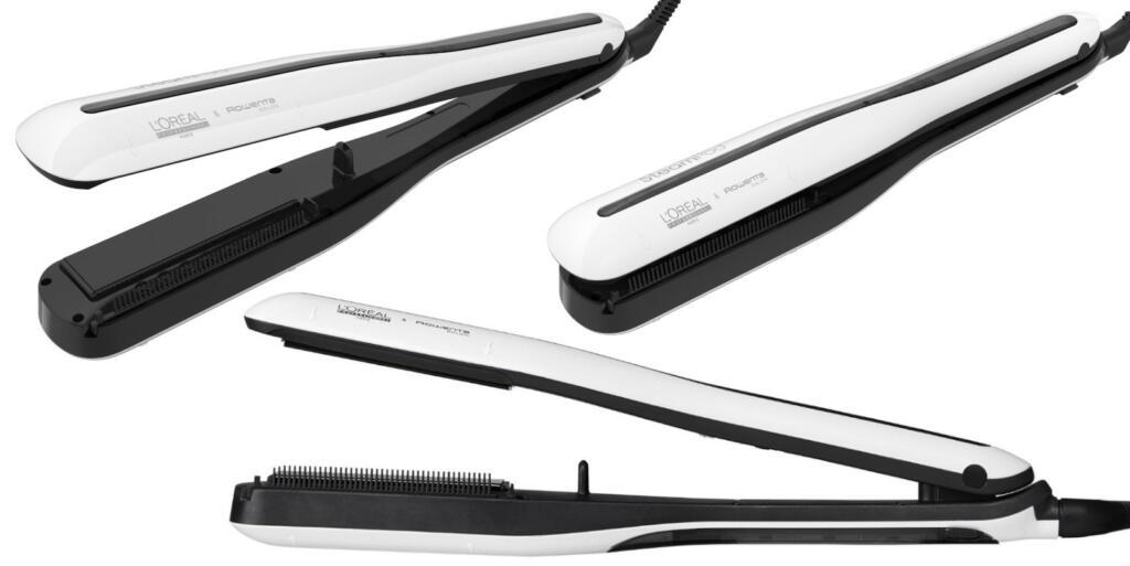 Parní žehlička na vlasy Loréal SteamPod 3.0 - bílá